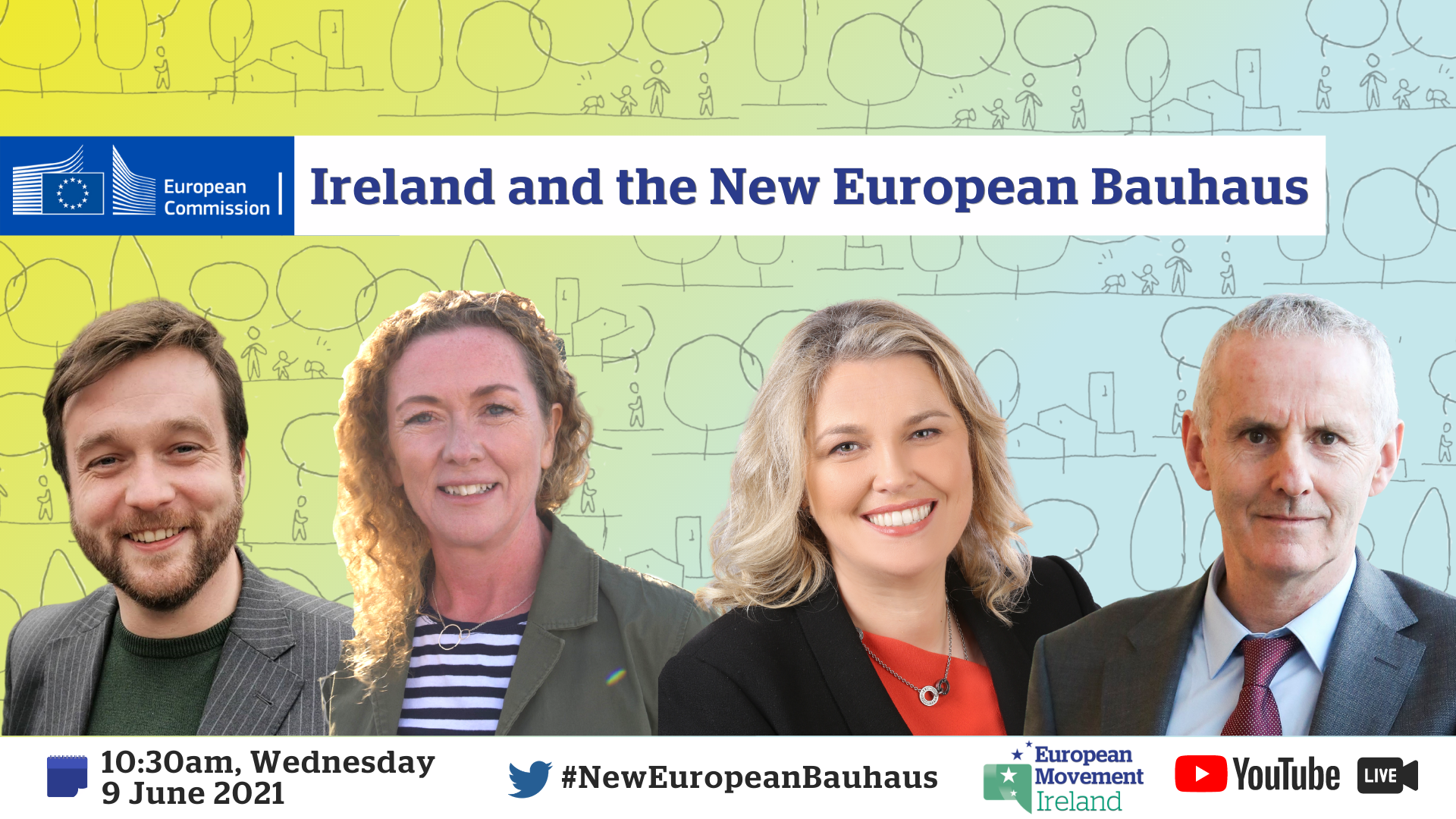 Image about the Ireland and New European Bauhaus event