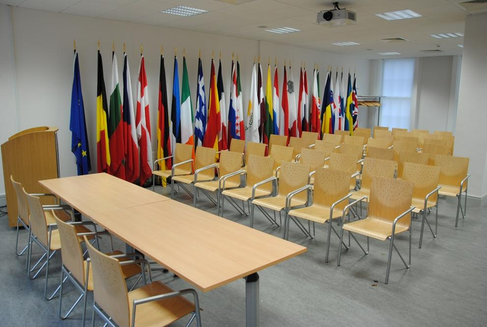 View of the conference room