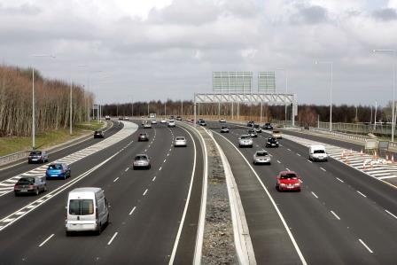 Motorway in Ireland